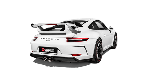 Akrapovic Slip-On Race Line Abgassystem für Porsche 991.2 GT3