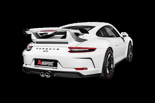 Akrapovic Evolution Header Set Abgassystem für Porsche 991.2 GT3