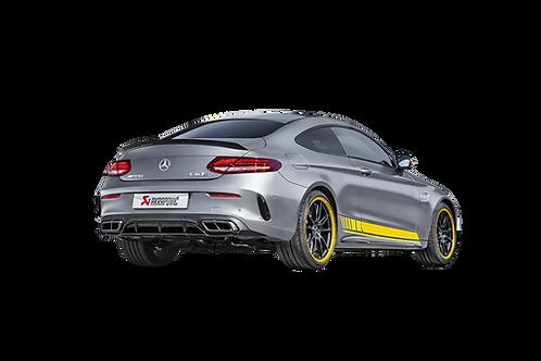 Akrapovic Evolution Line Abgassystem für Mercedes Benz AMG C63 c205 (ABE)