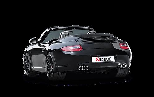 Akrapovic Slip On Race Abgasanlage für Porsche 997 Carrera / S / 4S / GTS