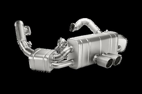 Akrapovic Slip On Abgasanlage für Porsche Boxster Spyder (ABE)