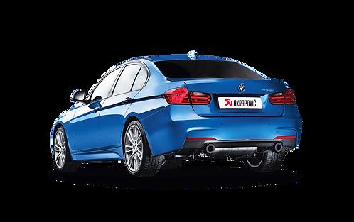 Akrapovic Evolution Abgassystem für BMW 335i (F30,F31) ABE
