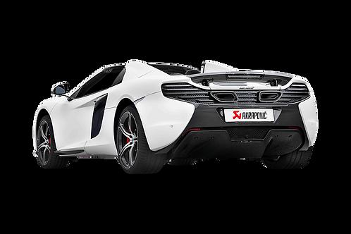 Akrapovic Slip On Abgassystem für McLaren 650S und 650S Spider