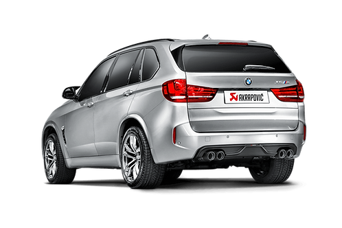 Akrapovic Evolution Line Titan Abgassystem für den BMW X5 M (F85) ABE