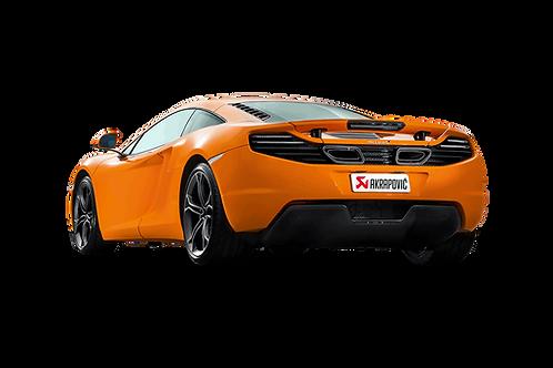 Akrapovic Slip On Abgassystem für McLaren 12C und 12C Spider
