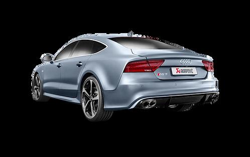 Akrapovic Evolution Abgassystem für Audi RS7 (ABE)