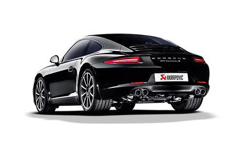 Akrapovic Abgassystem für Porsche 991 Carrera Cabriolet / S / 4S / GTS (ABE)