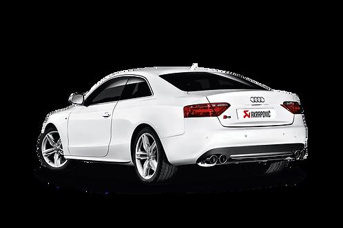 Akrapovic Slip On Abgassystem für Audi S5 (8T) ABE