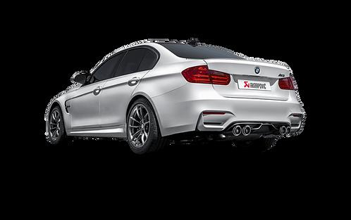 Akrapovic Slip On Line Abgassystem für BMW M3 (F80) ABE