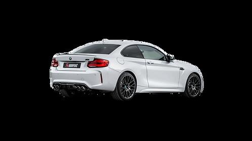 Akrapovic Slip-On line Abgassystem für BMW M2 COMPETITION (F87N) ABE