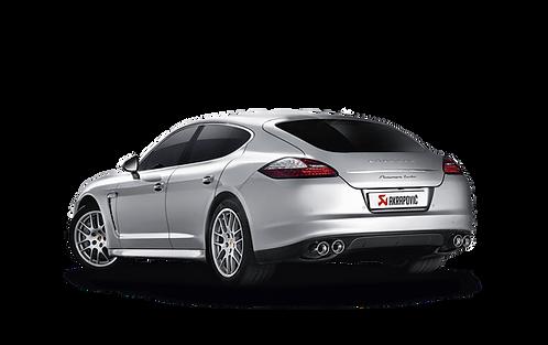 Akrapovic Evolution Abgassystem für Porsche Panamera Turbo / S