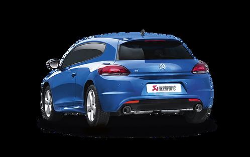 Akrapovic Slip On Abgassystem für VW Scirocco 2.0 TSI R (ABE)
