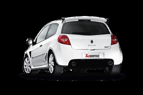 Akrapovic Evolution Line Abgassystem für Renault Clio III RS 200