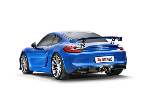 Akrapovic Slip-On Line Abgasanlage für Porsche Cayman GT4 (ABE)