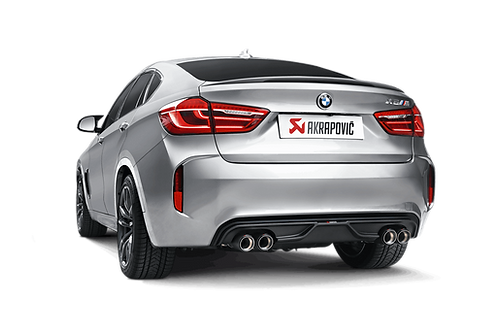 Akrapovic Evolution Line Titan Abgassystem für den BMW X6 M (F86) ABE