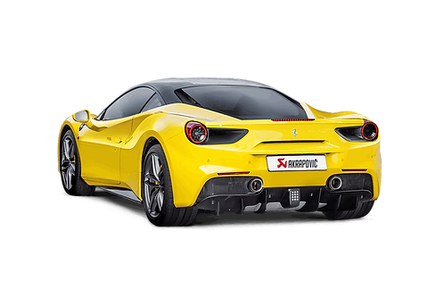 Akrapovic Slip On Titan Sportauspuff für Ferrari 488 GTB, 488 Spider (ABE)