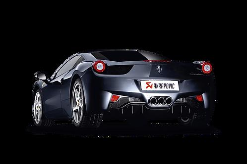 Akrapovic Slip On Abgassystem für Ferrari 458 Italia, 458 Spider (ABE)