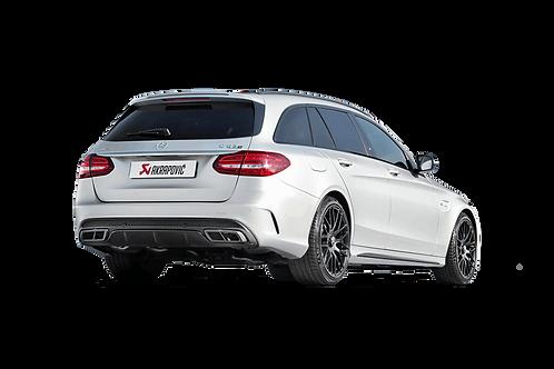 Akrapovic Evolution Line Abgassystem für Mercedes Benz AMG C63 s205 (ABE)