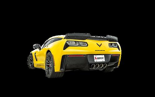 Akrapovic Slip On Titan Abgassystem für Corvette Z06 (C7)
