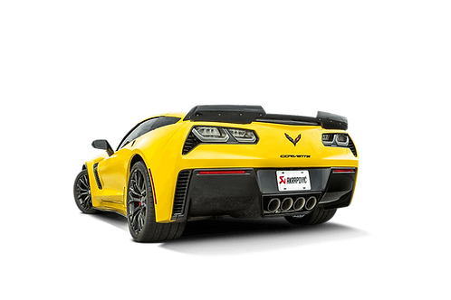 Akrapovic Evolution Line Titan Abgassystem für Corvette Stingray (C7)
