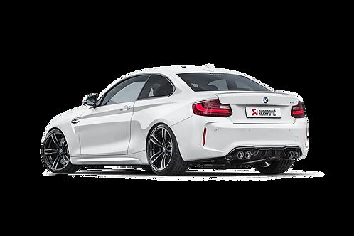 Akrapovic Evolution Line Abgassystem für BMW M2 (F87) ABE