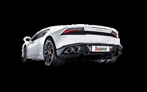 Akrapovic Slip On Abgassystem für Lamborghini Huracan LP610-4 (coupe/spyder)