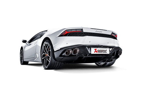 Akrapovic Slip On Abgassystem für Lamborghini Huracan LP 580-2 Coupé/Spyder `16-