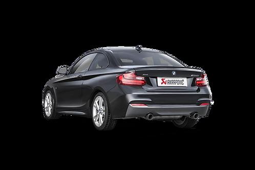 Akrapovic Evolution Line (SS) Abgassystem für BMW M240i (F22, F23) ABE