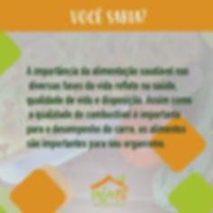 IMAGEM 9 - ALIMENTAÇÃO SAUDÁVEL - VOC