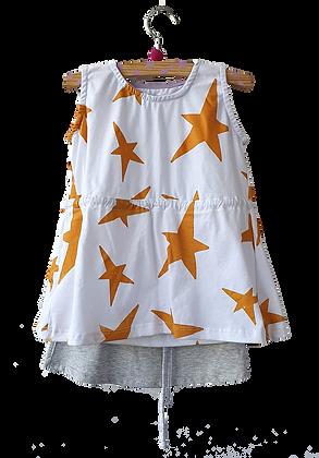 Vestidinho Mágico estrelado