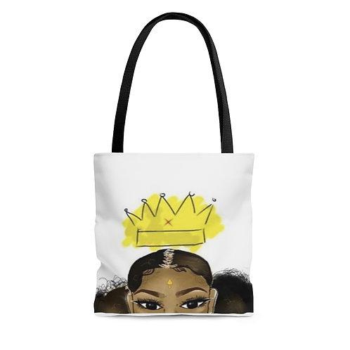 Evolving Queen Tote Bag