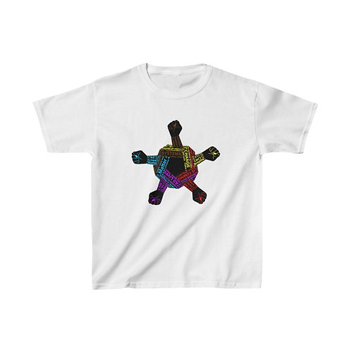 Color Outline United Hand-kids tee
