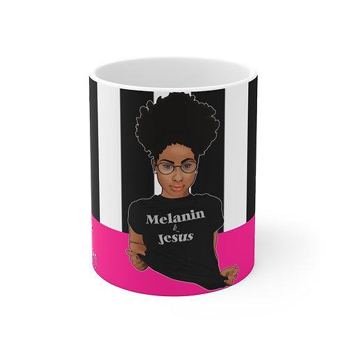 Melanin & Jesus Mug