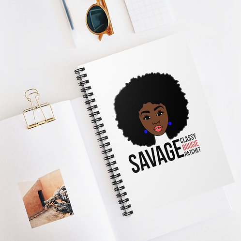 SAVAGE Fro Notebook