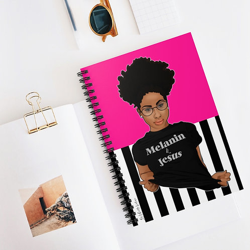 Melanin & Jesus Notebook