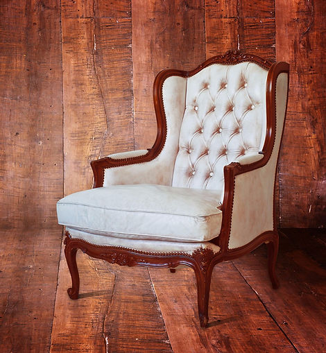 Beautifully upholstered chair