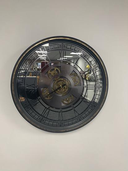 Mirrored Cog Clock