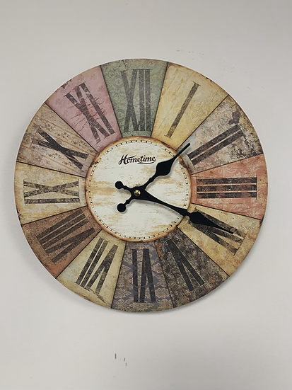 Multi Colour Clock