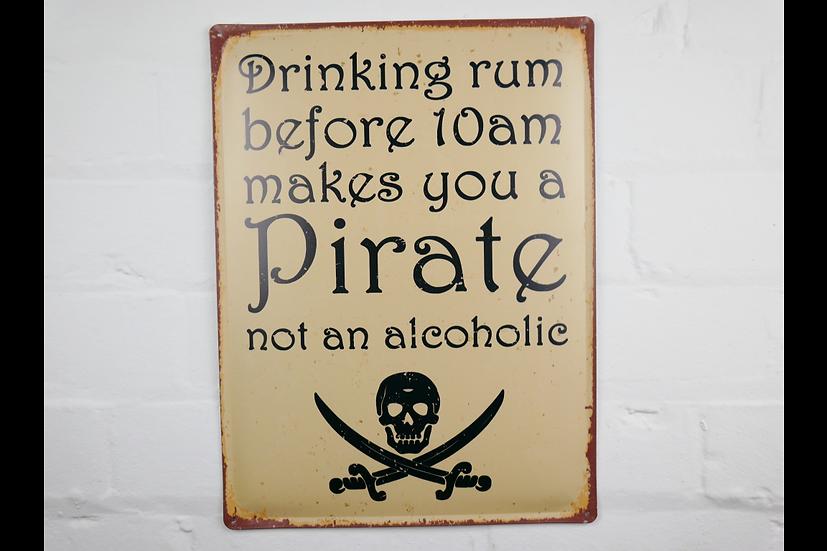 Sign - Drinking Rum