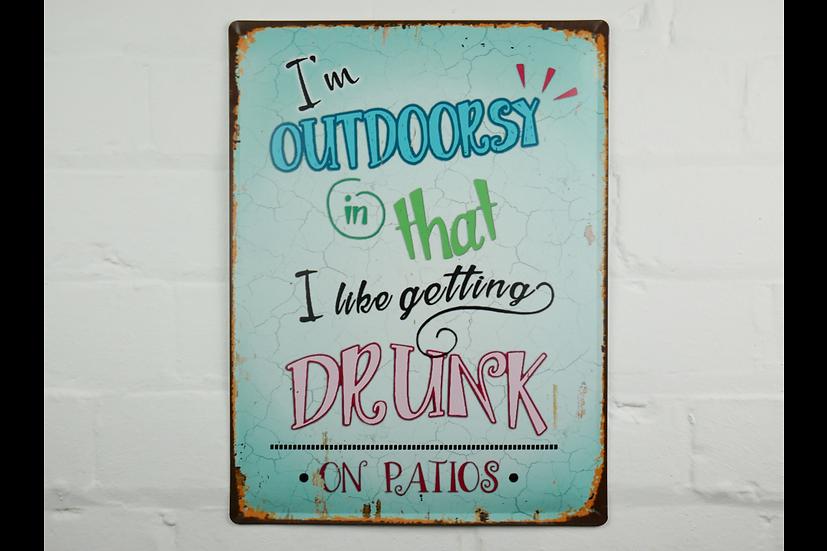 Sign - I'm Outdoorsy