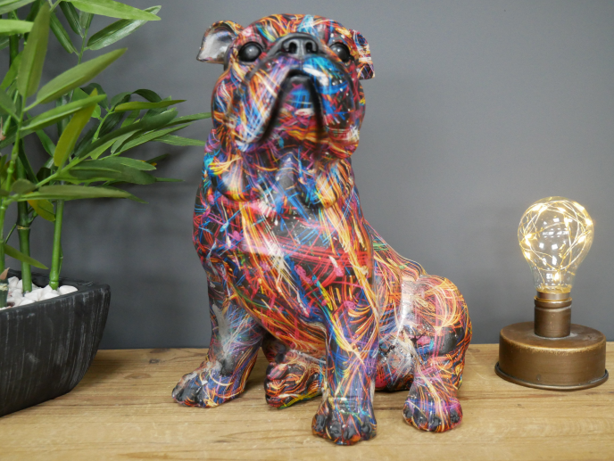Paint Splat Bulldog