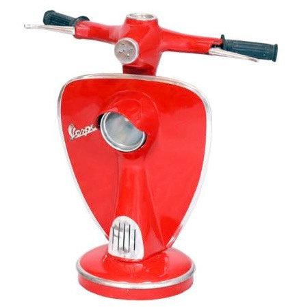 Red Vespa Lamp