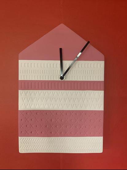 House Cement Clock