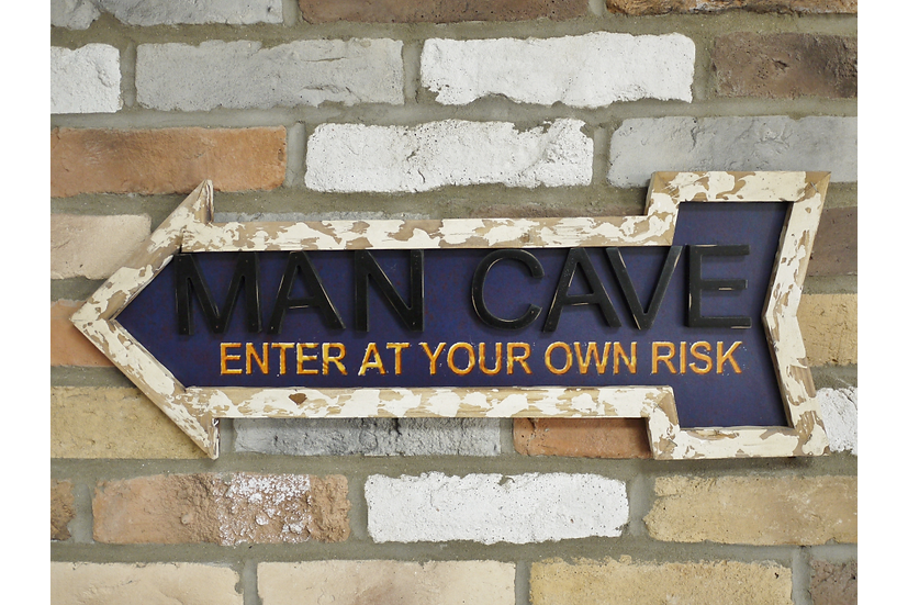 Sign - Man Cave