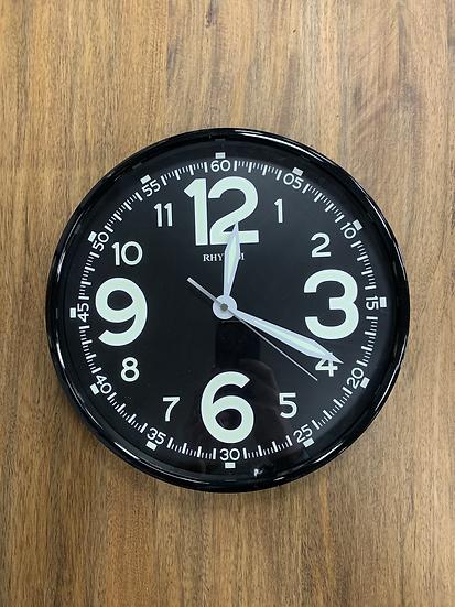 Black Luminous Clock