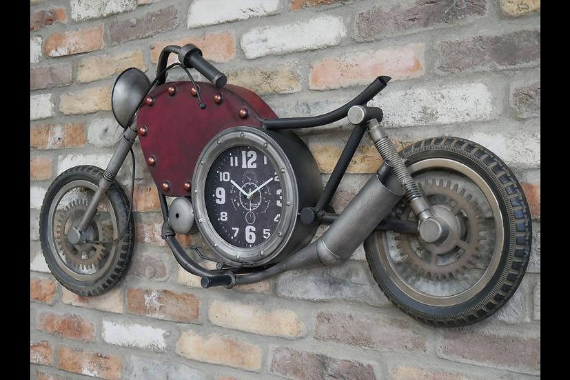 Motorbike Clock