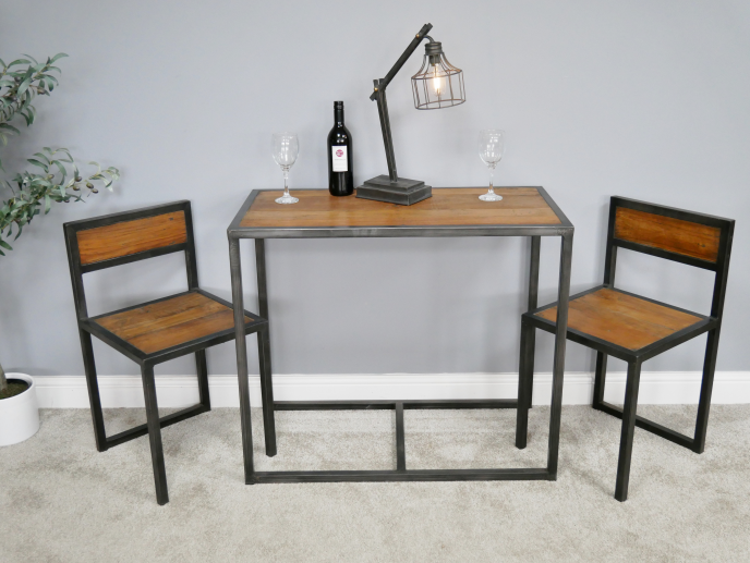 Table and 2 chair Set