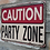 Thumbnail: Sign - Party Zone