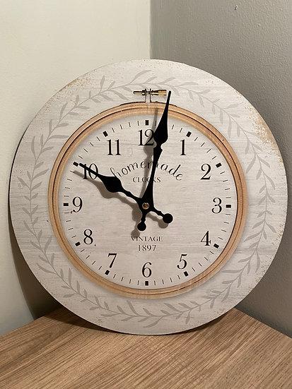 Vintage 1897 Wall Clock