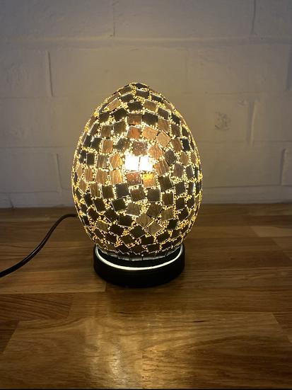 Tile Mosaic Egg Lamp